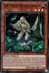 Subterror Nemesis Archer - OP11-EN005 - Super Rare - Unlimited Edition