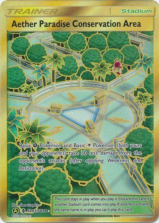 Aether Paradise Conservation Area - SV87/SV94 - Secret Rare
