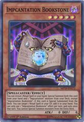 Impcantation Bookstone - MP19-EN172 - Super Rare - 1st Edition