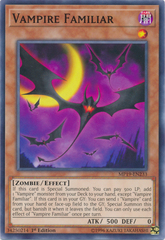 Vampire Familiar - MP19-EN233 - Common - 1st Edition