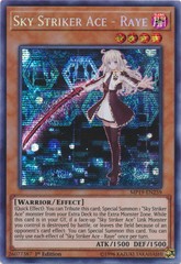 Sky Striker Ace - Raye - MP19-EN259 - Prismatic Secret Rare - 1st Edition