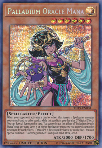 Palladium Oracle Mana - TN19-EN004 - Prismatic Secret Rare - Limited Edition
