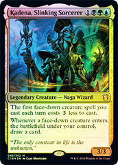 Kadena, Slinking Sorcerer - Oversized