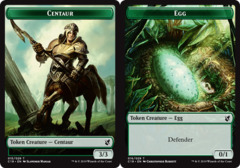 Centaur // Egg Double-sided Token