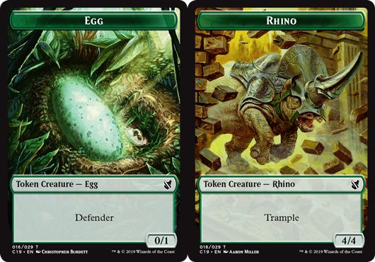 Token - Egg Token // Rhino