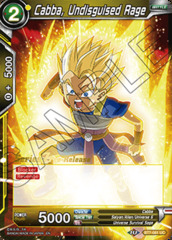 Cabba, Undisguised Rage - BT7-081 - UC - Pre-release (Assault of the Saiyans)