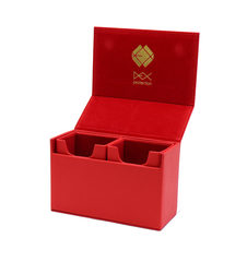 Dex Protection - The Dualist Deckbox - Red