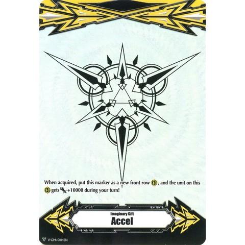 Promo Card Marker Imaginary Gift Accel V-GM//0021EN Cardfight Vanguard