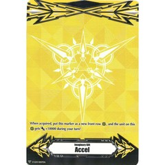 ▽ Imaginary Gift Marker [Accel] Original (Metallic Yellow) - V-GM/0107EN (FOIL) [V-BT05]