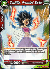 Caulifla, Frenzied Sister - DB1-010 - R on Channel Fireball