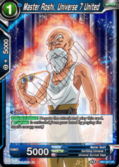 Master Roshi, Universe 7 United - DB1-027 - UC - Foil