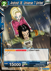 Android 18, Universe 7 United - DB1-029 - UC on Channel Fireball