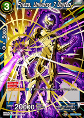 Frieza, Universe 7 United - DB1-031 - SR