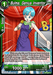 Bulma, Genius Inventor - DB1-047 - C on Channel Fireball