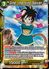 Gine, the Kind Saiyan - DB1-062 - UC - Foil