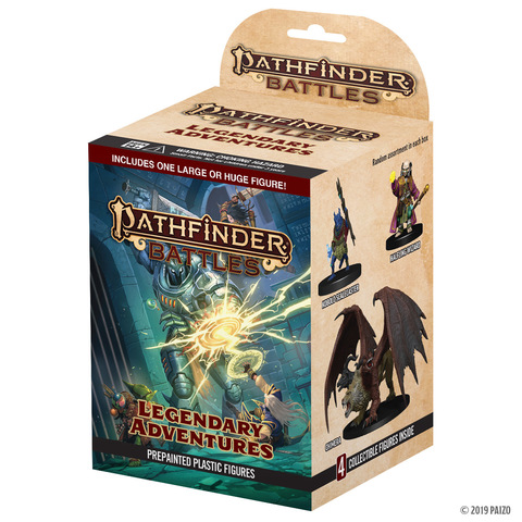 Pathfinder Battles Legendary Adventures: Standard Booster