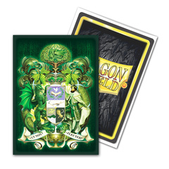 Dragon Shield Sleeves: Classic Art King Mothar Vanguard: Coat-of-Arms (Box of 100)