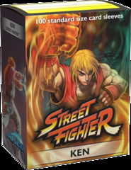 Dragon Shield Sleeves: Art Classic - Street Fighter: Ken (Box of 100)