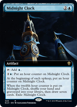Midnight Clock - Extended Art