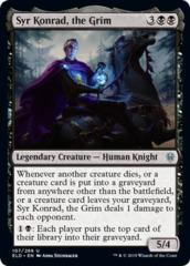 Syr Konrad, the Grim - Foil