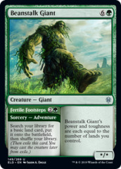Beanstalk Giant // Fertile Footsteps - Foil on Channel Fireball