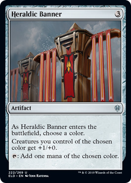 Heraldic Banner - Foil