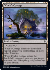 Witch's Cottage - Foil