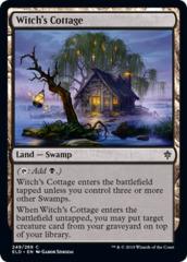 Witch's Cottage - Foil