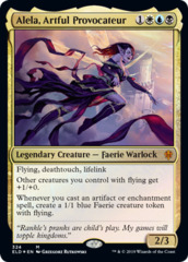Alela, Artful Provocateur - Foil - Brawl Deck Exclusive