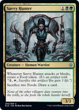 Savvy Hunter - Foil