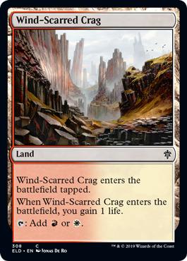 Wind-Scarred Crag - Planeswalker Deck Exclusive