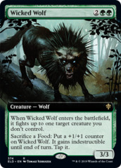 Wicked Wolf - Extended Art