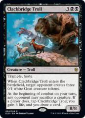 Clackbridge Troll - Foil