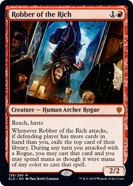 Robber of the Rich - Foil