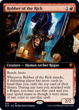 Robber of the Rich - Extended Art