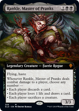 Rankle, Master of Pranks - Foil - Extended Art