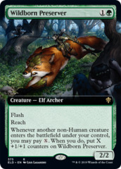 Wildborn Preserver - Foil - Extended Art
