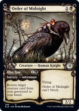 Order of Midnight // Alter Fate - Foil - Showcase
