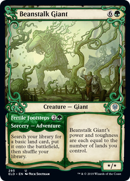 Beanstalk Giant // Fertile Footsteps - Showcase