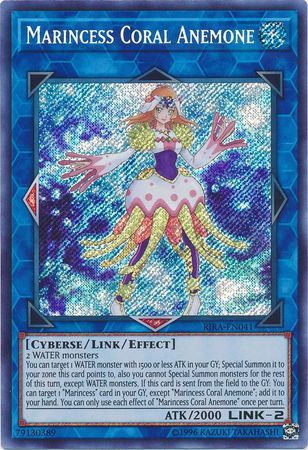 Marincess Coral Anemone - RIRA-EN041 - Secret Rare - Unlimited Edition