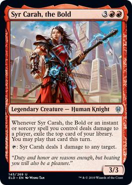 Syr Carah, the Bold