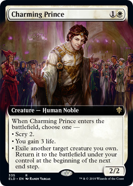 Charming Prince - Extended Art