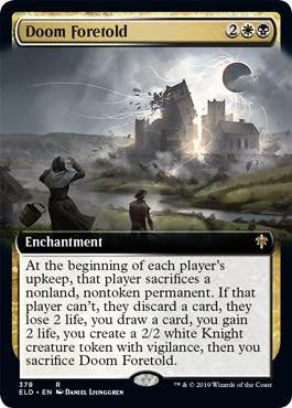 Doom Foretold - Foil - Extended Art