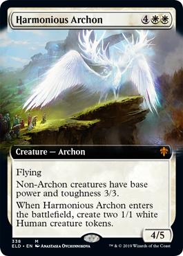 Harmonious Archon (Extended Art) - Foil