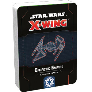 Star Wars X-Wing - 2nd Edition - Galactic Empire Damage Deck