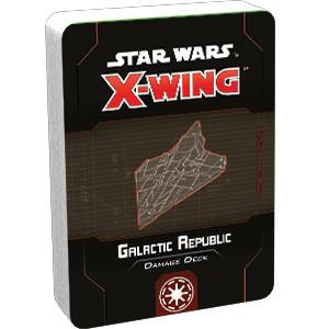 Star Wars X-Wing - 2nd Edition - Galactic Republic Damage Deck
