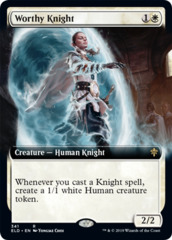 Worthy Knight - Extended Art