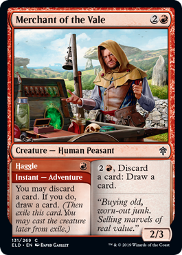 Merchant of the Vale // Haggle - Foil