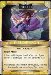 Yuki, the Lightning Flash