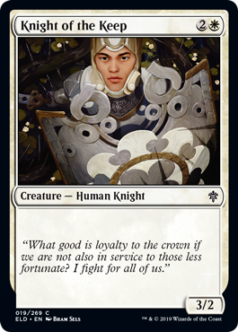 Knight of the Keep - Foil